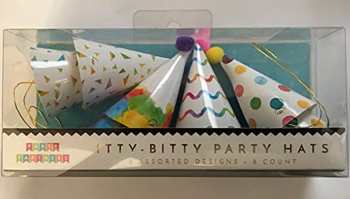 Party Partners Itty Bitty Party Hats 8 Count 3
