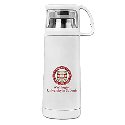 HAULKOO Washington University In St Louis Stainless Steel Traveling Cup
