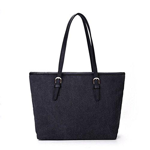 Raven Shoulder Handbag Sunflower Bag Lightweight HeySun Black Women's painted Hand 8qxPwCn1Zp