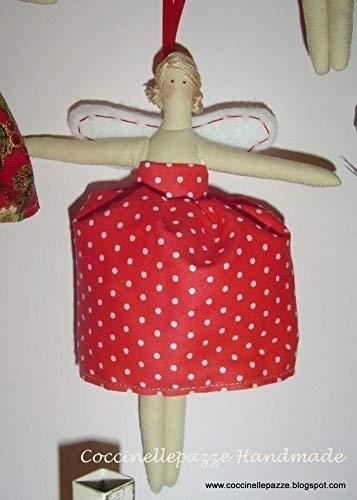 Decorazioni Natalizie Ballerine.Angioletto Tilda Ballerina Addobbo Per Albero Di Natale Decorazione