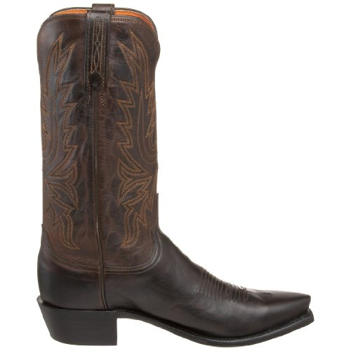 Lucchese Cole Hombre Piel Bota Occidental