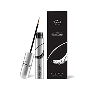 Ari Brands BEST Eyelash & Eyebrow Growth Serum - Clinically Proven Eyelash Enhancing Natural Conditioner Serum for Visibly Longer & Fuller Lashes and Brows. Lash Growth Serum. Brow Treatment.