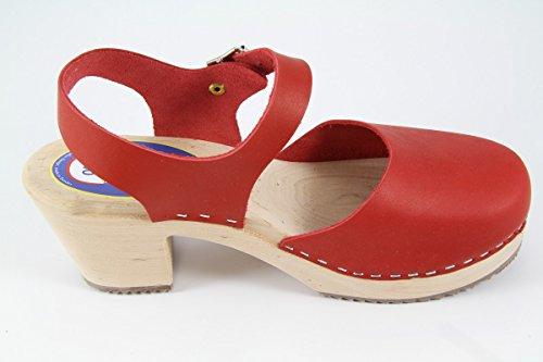 Design carlotti sabots britta rouge zvosCl