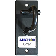 Anchor Gym H1 Workout Wall Mount Strap Anchor   Wall, Ceiling Mounted Hook Exercise Station for Suspension Straps, Resistance Bands, Strength Training, Yoga, Home Gym