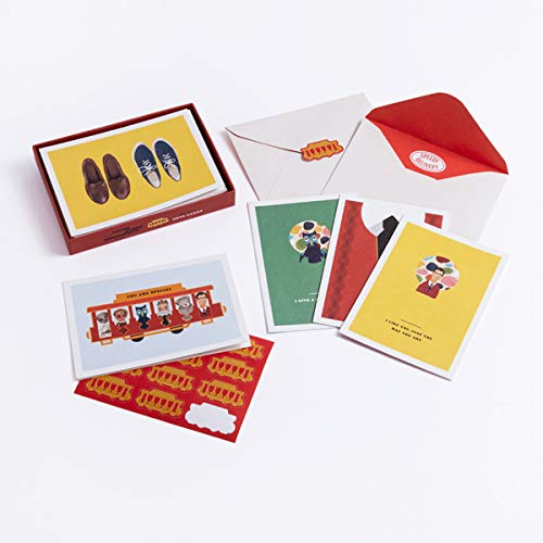 Mister Rogers Neighborhood 12 Note Cards With Envelopes And Golden Seals All Occasion Greetings To Make Anyone Feel Special Fred Rogers Productions 9781984826435 Amazon Com Books