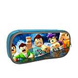 deborah saddsdr R-Roblox Pencil Case Zippered Pencil Bag Pencil Stationery Pouch For School Office Supplies