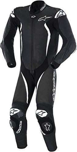 Alpinestars GP Tech One-Piece Leather Suit - 56/Black/White