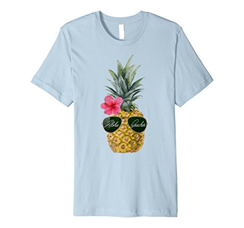 Awesome Pineapple Shirts- Aloha Beaches Tropical T-Shirt