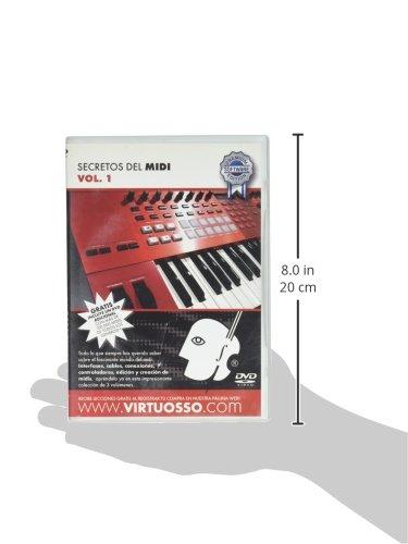Amazon.com: Virtuosso MIDI Editing Method Vol.1 (Curso De Edición De Midi Vol.1) SPANISH ONLY: Musical Instruments