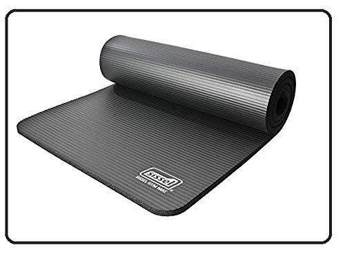 Sissel Gymnastikmatte Anthrazit - 180 X 60 X 1,0 cm