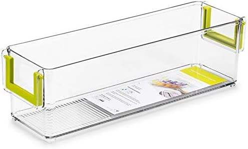 Lacyie Cajón frigorífico, Caja de Almacenamiento con Asas ...