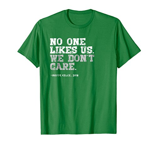 Philadelphia No One Likes Us We Don't Care T-shirt