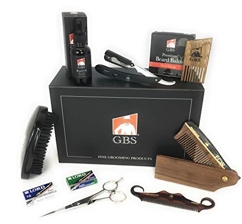 Beard Grooming & Trimming Kit For Men Care - Beard Brush 3