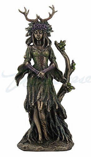 Veronese Guardian Goddess of The Trees Bronze Finished Statue ()