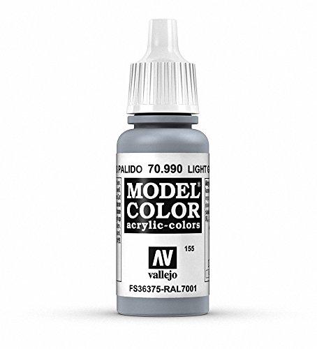 Vallejo Light Grey Model Color Paint, 17ml (Best Light Grey Paint)