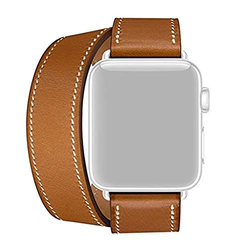 - Freshzone Leather Watch Band - Fits for 5.5