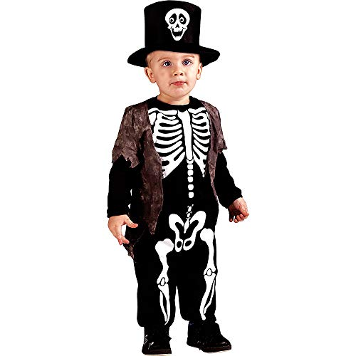 Happy Ghost Halloween Costume (Fun World Happy Skeleton Toddler)