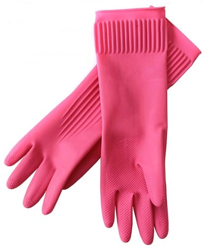 Komax Heavy Duty Latex Rubber Glove (Xl Size)