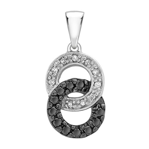 Carissima Gold - Pendentif - 5.61.083G - Femme - Or blanc (9 carats) 1.44 Gr - Diamant