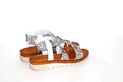 Sandalen Sandaletten aus Leder Schuhe Damen RIPA shoes - 09-90311
