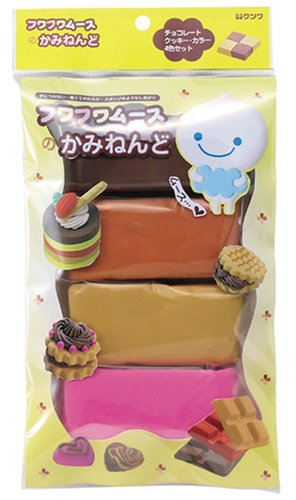 Kami Clay Clay mousse chocolate four genera PT709 (japan import)