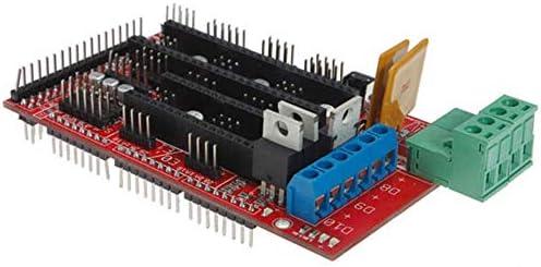 LWQJP 10PCS 3DプリンタコントローラのRAMPS 1.4 ReprapメンデルPrusa A r -d u i n oの3Dプリンタアクセサリ