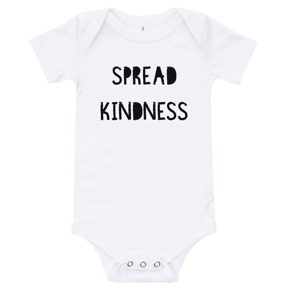 Spread Kindness Newborn Onesie T-Shirt Happy Lazy Shade