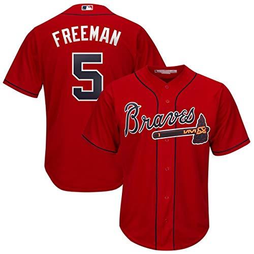 Men's Atlanta Braves #5 Freddie Freeman 2019 Cool Base Player Jersey