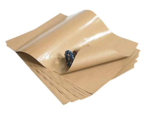 Box Partners KPPCS2436 24 in. x 36 in. - 50no. Poly Coated Kraft Paper Sheets B007Y9LTD2