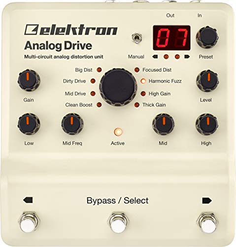 Elektron Analog Drive Multi-circuit Analog Distortion Pedal (Best Analog Distortion Pedal)