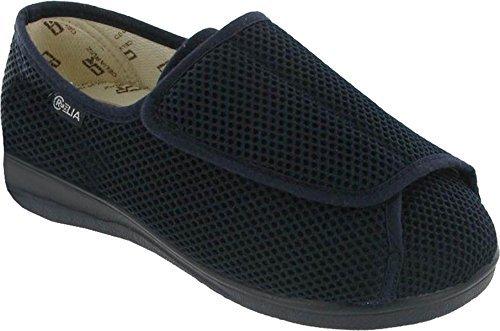 Chaussure Hommes Celia Simple Ruiz Mirak Large Fermeture Coupe navy Textile Boot Été 300 AY0Wqpw