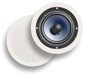 Polk Audio RC60i 2-Way In-Ceiling  Speakers (Pair, White)