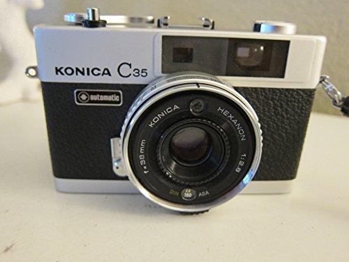 Konica C35 35MM Film Camera Konica Hexanon 38mm F2.8 Lens Is