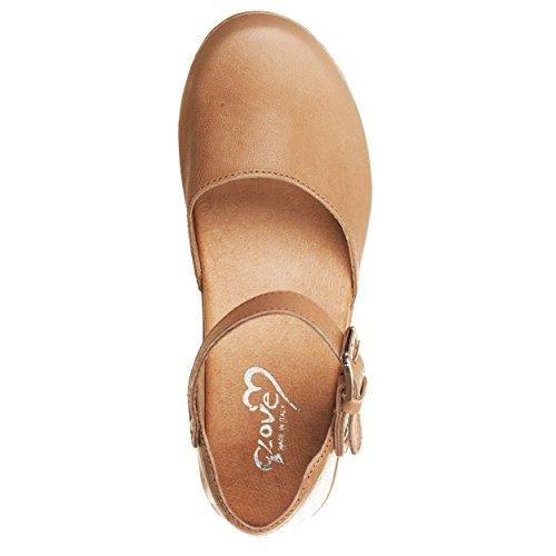 VialeScarpe Sas-7733sltp_39 - Zapatos de cordones para mujer beige beige 39 Beige