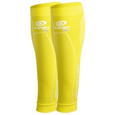 Kompressionsstrümpfe Kniehöhe Booster Elite Gelb–L