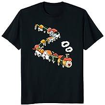 Sushi Gift T-Shirt Japanese Sashimi Fun Sushi Train Geek Tee
