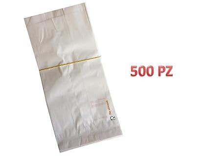 500 Bolsas de papel blanco - Tamaño Cm. 30 x 60 Bolsas de ...