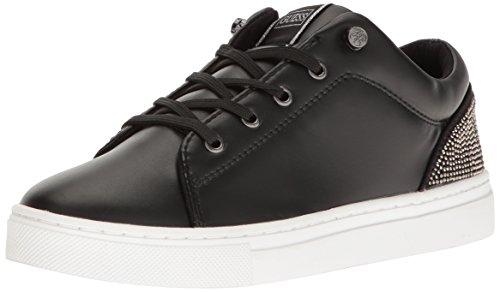 Guess Women's Jollie Fashion Sneaker, Black, 7 M US