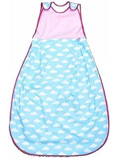 Linden 317344 saco de dormir de verano DUO, 110 cm, nube/rosa