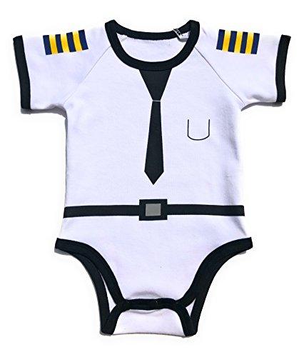 Totscotch Baby Romper Jumpsuit 100% Cotton Pilot Uniform by