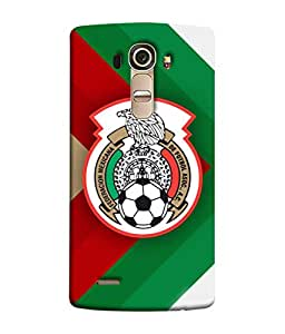 ColorKing Football Mexico 11 Multicolor shell case cover for LG G4