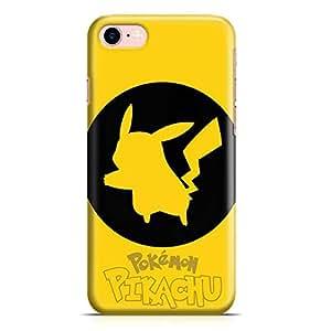 Loud Universe iPhone 8 Case Pokemon Case Pikachu Badge- Metal Inforced Wrap Around iPhone 8 Cover