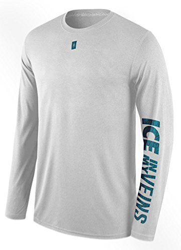 Hoopculture   Mens   Icy Sleeve Active Long Sleeve Casual Basketball Tshirt  White  Xl