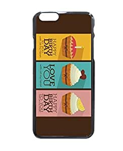 """Nice Customized Machine-washable Happy Birthday Love Card Stylish Photo Printed Hard Customized Case Cover , Iphone 6 (4.7"""") Case Cover, Protection Quique Cover, Perfect Fit, Show Your Own Personalized Phone Case for Iphone 6 - 4.7 Inches by icecream design"""