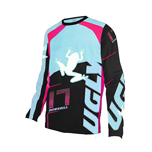Uglyfrog Winter Thermal Fleece Long Sleeve Downhill Jersey DH/AM/XC/FR/MTB/BMX/Moto/Enduro/Offroad Motocross Bike Wear ()
