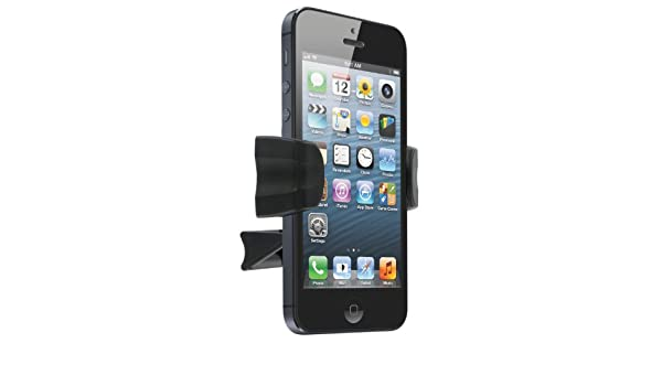 Amazon.com: Kit Universal Smartphone In-Car Holder Compatible with iPhone 3/3G/3GS/4/4S/5/5S/5C - Black: Home Audio & Theater