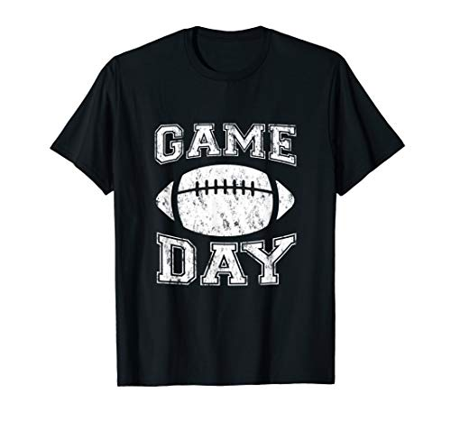 Game Day Football Tailgate T-Shirt for Fans ()