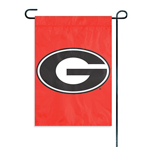 Clock Bulldogs Georgia (Party Animal NCAA Georgia Bulldogs Garden Flag)