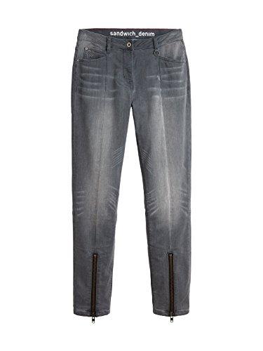 Jeans Jeans Donna Donna Jeans Denim Sandwich Sandwich Grey Grey Sandwich Denim w1E5qW7aa