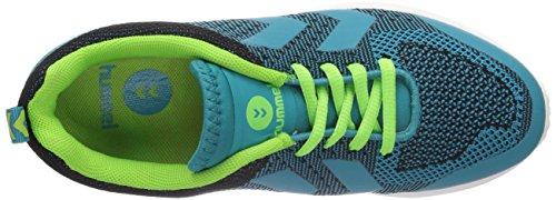 sintético ZEROKNIT balonmano azul material de Blau Unisex Bay HUMMEL zapatillas Hummel adulto de 8261 Latigo 5Iwq05Z